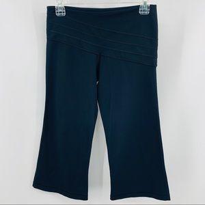 Lululemon Black Reversible Crop Yoga Pants